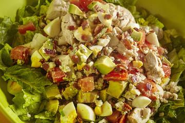a bowl of Cobb Salad