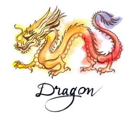 Yellow-red dragon