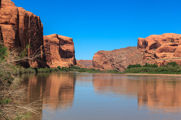 Colorado River in Canyonland National Park.