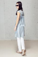 Nice and style girl image making walk away studio