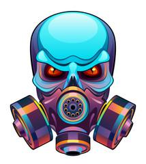 Skull in mask