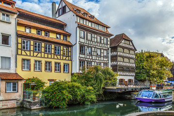 Embankment of the Ill river, Strasbourg