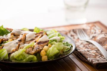 Ceasar Salad with Grilled Chicken