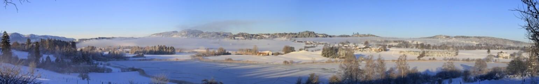 Niedersonthofener See - Winter - Kempten - Allgäu