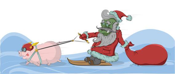 Goblin - Santa Claus.