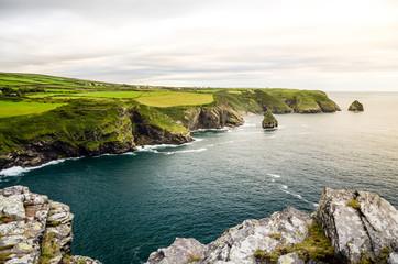 Küstenlandschaft in Cornwall, England