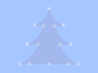 Merry Christmas tree background.