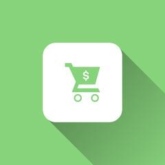cart icon. vector illustration