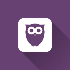 owl sign. icon design
