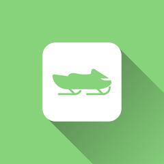 snowmobile icon design