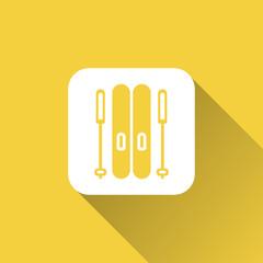 snowboard icon design