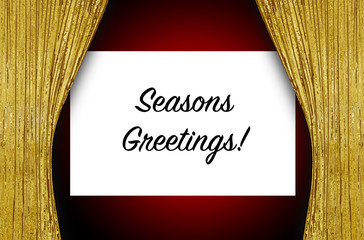 Theatre Screen - Seasons Greetings!