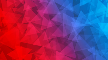 Abstract background of small triangles
