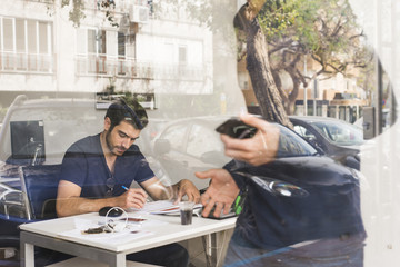 Israel, Men working in office