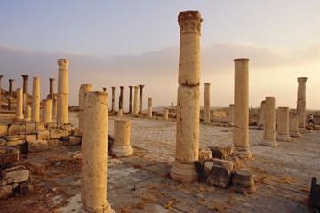 Roman ruins of Umm Qais, the biblical Decapolis city of Gadara, Jordan, Middle East