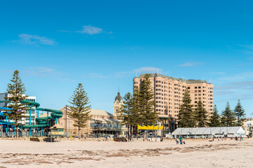 Glenelg Beach view on a day