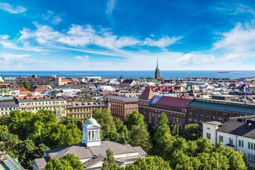 Panoramic view of Helsinki