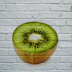Art urbain, kiwi
