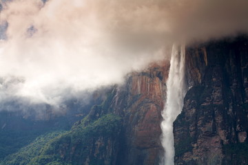 Angel Falls, Canaima National Park, UNESCO World Heritage Site, Guayana Highlands, Venezuela, South America