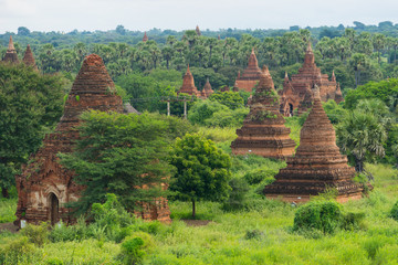 Bagan ancient city landscape, Mandalay, Myanmar