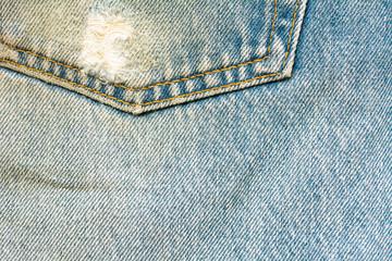 The blue jeans or blue denim clean texture.