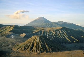 Bromo-Tengger-Semeru National Park at dawn, island of Java, Indonesia, Southeast Asia, Asia