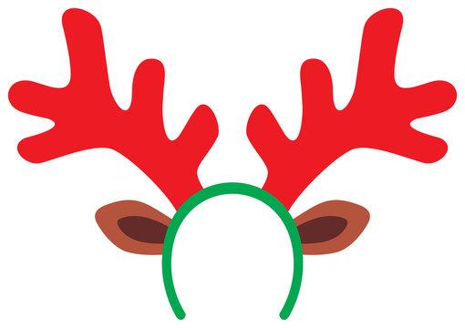 funny christmas reindeer horns