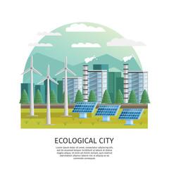 Smart City Ecology Concept