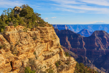 Beautiful view from North Rim of the Grand Canyon, Arizona, Unit