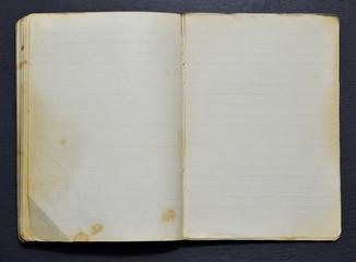Altes Notizbuch