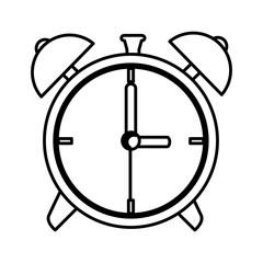 alarm watch isolated icon vector illustration design