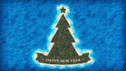 "Island ""New Year tree"""