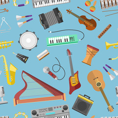 Music pattern vector.