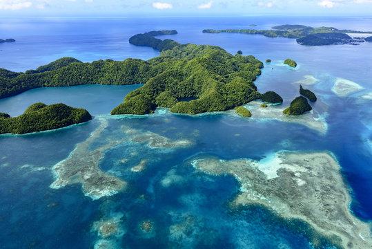 Palau Ngeruktabel Island - World heritage site -