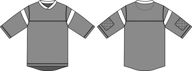 Hockey shirts illustration [vector]