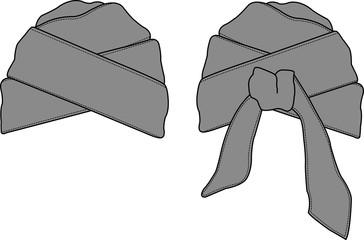 Turban illustration [vector]
