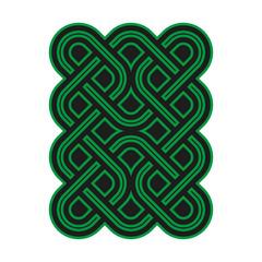 Celtic pattern. Element of Celtic or Irish ornament