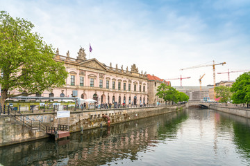 Fotobehang BERLIN, GERMANY- May 18, 2016: Typical Street view May 18, 2016