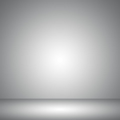 Abstract gray empty room studio gradient used for background and display your product.