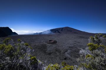 Volcano piton de la fournaise