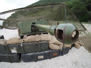 Bunker Soratte howitzer