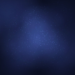 Abstract background with white glowing objects. The starry night sky. Vector