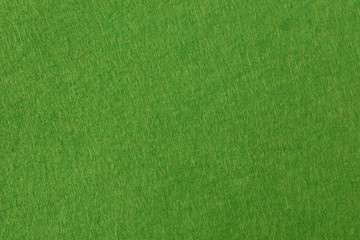 Green felt background based on natural texture.