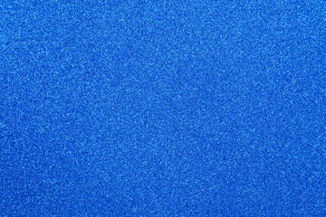 Focused blue abstract glitter background