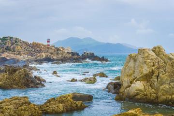 Coast lighthouse.
