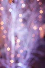 illuminations abstraites violettes de la nuit
