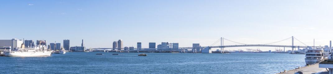 東京湾風景(晴海・お台場)