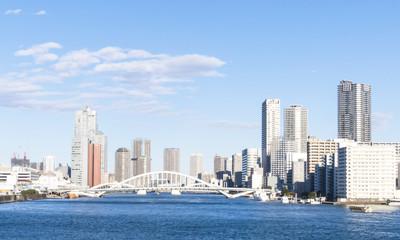 東京湾風景(佃島・勝どき)