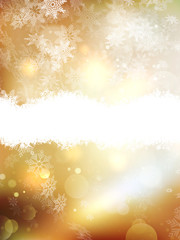 Gold Christmas background. EPS 10