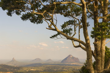 Glass House Mountains, Queensland, Australia, Pacific